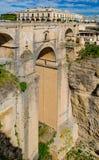 старый городок Испании rondo Стоковые Изображения