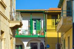 Старый городок Лимасола Стоковая Фотография