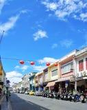 Старый городок Пхукет стоковые фотографии rf