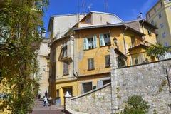 Старый городок, славный, Провансал-Alpes-Коут D'Azur, Франция стоковое фото rf