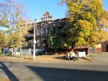 старый городок стоковая фотография rf