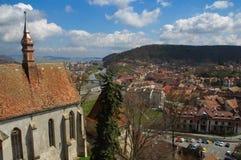 старый городок 2 стоковое изображение