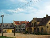 старый городок Стоковые Изображения RF