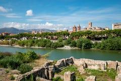Старый городок Albenga стоковая фотография
