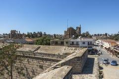Старый городок Famagusta Gazimagusa, Кипра Стоковое Изображение RF