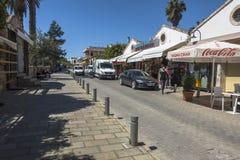 Старый городок Famagusta Gazimagusa, Кипра Стоковое Изображение