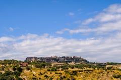 Старый городок Gerace Стоковая Фотография RF
