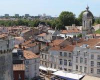 Старый городок La Rochelle Стоковые Изображения RF