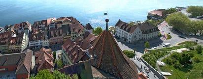 Старый городок Meersburg Стоковое фото RF