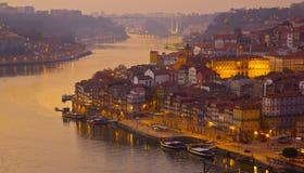 старый городок porto Португалии Стоковое Изображение