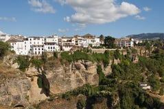 старый городок ronda Испании стоковое фото rf