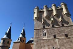 старый городок segovia Испании Стоковое Изображение