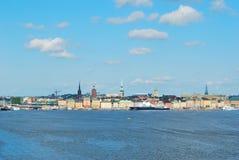 старый городок stockholm Стоковые Изображения