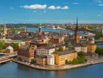 старый городок stockholm Стоковые Изображения RF