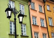 старый городок warsaw Польши Стоковые Изображения