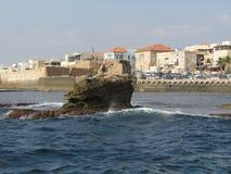 Старый город акра, Израиль Стоковые Фотографии RF