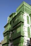 Старый город в Джидде, Саудовская Аравия известная как ` Джидды ` историческое Здания и дороги старых и наследия в Джидде согласо стоковая фотография