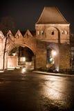 Старый город Торун, Polnad Стоковая Фотография RF