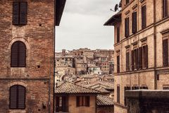 Старый город стоковая фотография rf