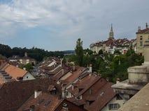 Старый город - Bern в Швейцарии Стоковая Фотография