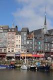 Старый город Honfleur Стоковые Изображения RF