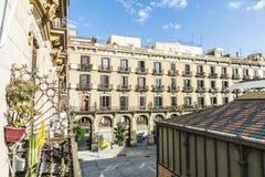 Старый городок, Барселона стоковое фото
