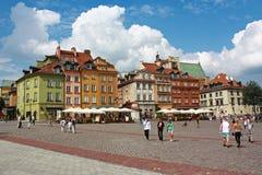 Старый городок Варшавы, Польши Стоковое Изображение RF
