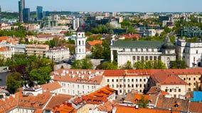 Старый городок Вильнюса Стоковые Изображения