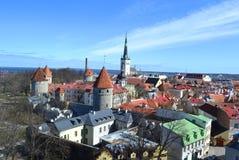 Старый городок в Таллине стоковое изображение