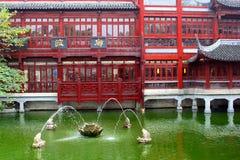 Старый городок в Шанхае, Китае Стоковые Фотографии RF