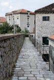 Старый городок в Kotor, Черногории Стоковое Изображение RF
