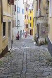 Старый городок в Piran Стоковое Изображение