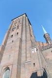 Старый городок Гданьска Стоковое фото RF