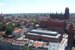 Старый городок - Гданьск Стоковое фото RF