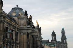 Старый городок Дрездена Стоковое Фото