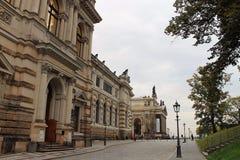 Старый городок Дрездена Стоковая Фотография