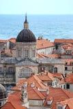 Старый городок Дубровник Хорватия Стоковое Фото