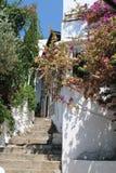 старый городок лестниц Стоковое Изображение