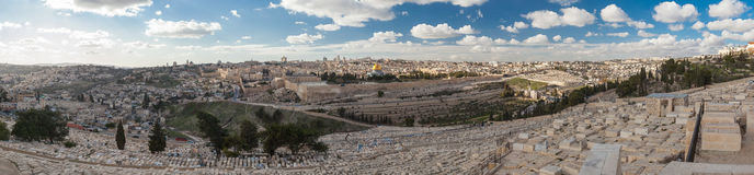 Старый городок Иерусалима Стоковое Фото