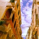 Старый городок Корфу Стоковые Фотографии RF