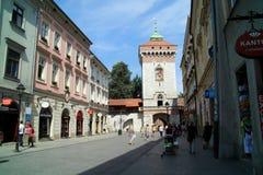 Старый городок Кракова в Польше Стоковое фото RF