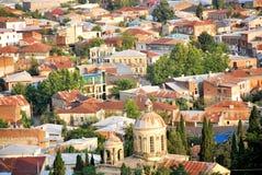 старый городок крыш Стоковое Изображение RF