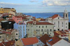 Старый городок Лиссабон Стоковое Фото