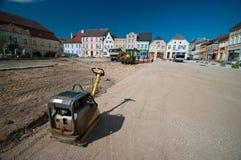 старый городок реновации Стоковые Фотографии RF