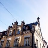 Старый городок Таллин стоковое фото