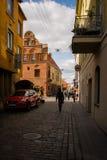 старый городок улицы Стоковые Фото