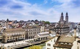 Старый городок Цюриха Стоковая Фотография RF