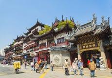 Старый городок фарфора Шанхая Стоковое Изображение RF