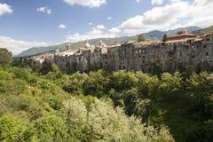 Старый городок ` Agata DE Goti Sant, в Италии стоковая фотография rf