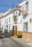 Старый городок Alhaurin de Ла Torre, Малага Стоковое Фото
